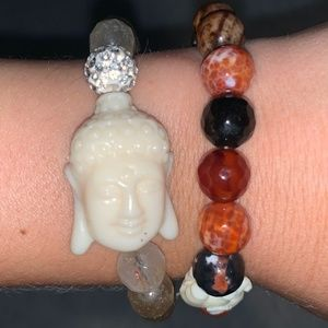 2 Beaded Bracelets for the Price of ONE